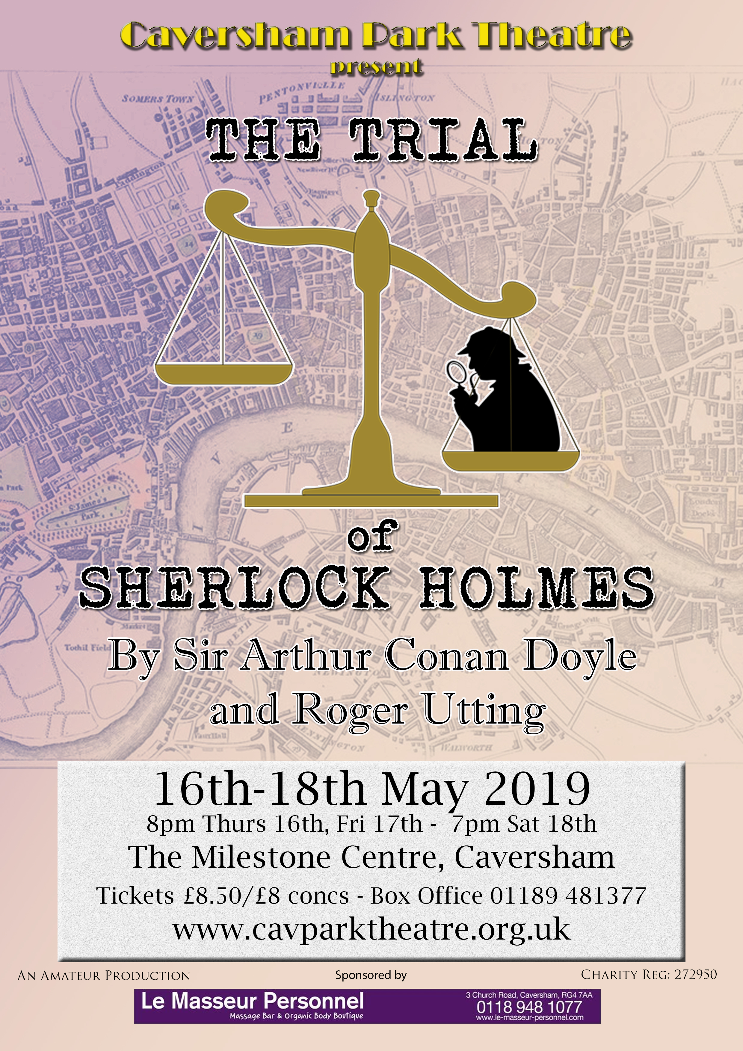 Trial of Sherlock Holmes Poster